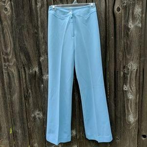 Vintage Polyester 70's Disco Pants High Waist Mom